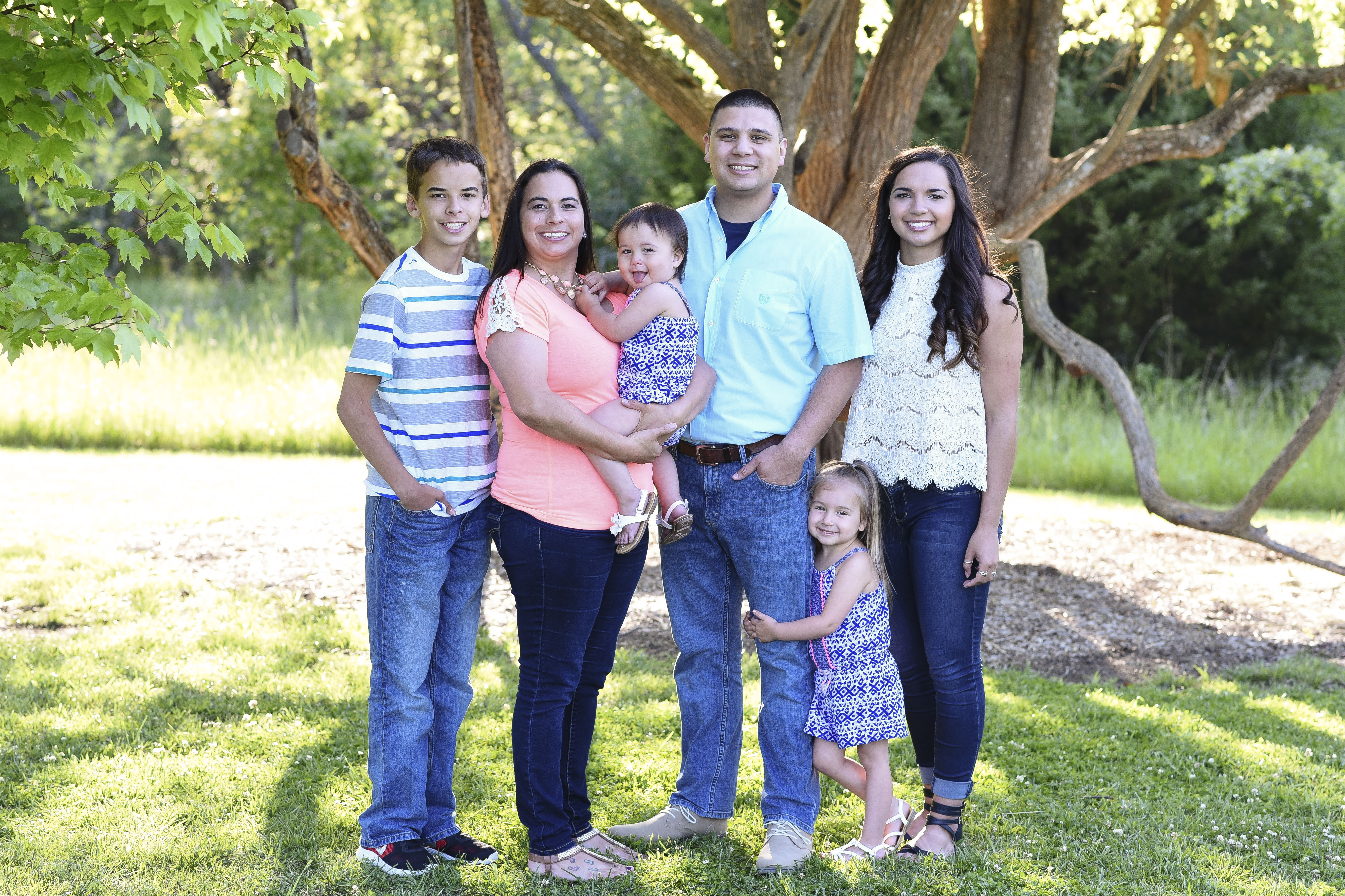 Desmond Henry Certified Financial Planner and family in Topeka Kansas
